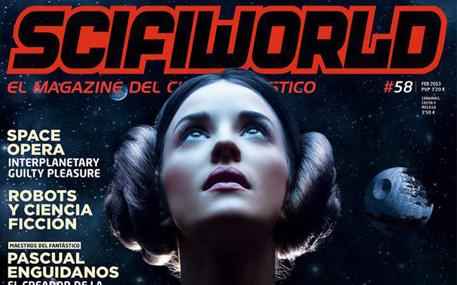 portada scifiworld revista retoque digital